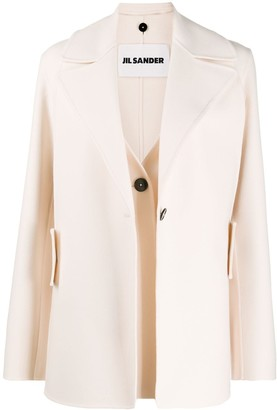 Jil Sander Cashmere Single-Breasted Blazer