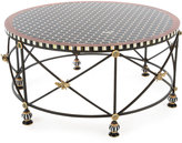 Mackenzie Childs MacKenzie-Childs Honeycomb Round Coffee Table