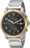 Tommy Hilfiger Men's 'Sport' Quartz Stainless Steel Casual Watch, Color:Silver-Toned (Model: 1791361)