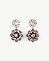 Ann Taylor Jeweled Flower Earrings