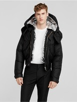 Calvin Klein Collection Nylon 3 In 1 Cropped Parka + Down Padded Liner