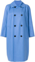 Marni double breasted classic coat - women - Polyamide/Wool/Virgin Wool - 38