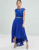 Coast Lori Lee Maxi Dress in Cobalt Blue
