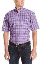 Wrangler Men's George Strait Collection One Pocket Short Sleeve Shirt