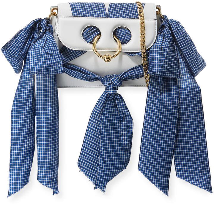 J.W.Anderson Mini Pierce Ribbon-Trim Bag