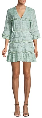 Alexis Audrea Ruffle Cotton Dress
