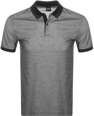 HUGO BOSS Boss Business Phillipson 55 Polo T Shirt Black