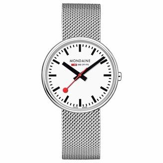 Mondaine Women's SBB Swiss-Quartz Watch with Stainless-Steel Strap