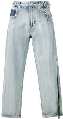 3.1 Phillip Lim Zippered Denim Pant