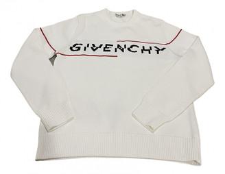 Givenchy White Cotton Knitwear & Sweatshirts