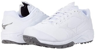 Mizuno Dominant 3 All Surface Turf Shoe (White) Women's Shoes