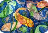 xmarc Tropical Fish Bath Mat From Art