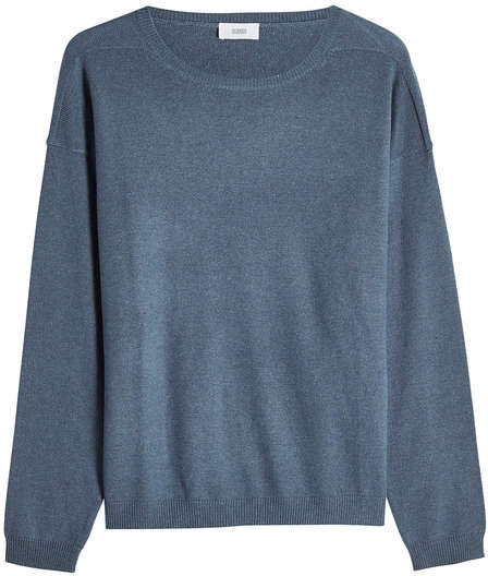 Closed Pullover with Wool and Cashmere
