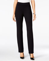 JM Collection Ponte Pull-On Pants, Only at Macy's