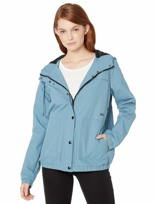 Volcom Women's Junior's Enemy Stone Windbreaker Jacket