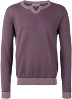Canali round neck sweater