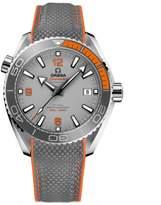 Omega Men's 43mm Rubber Band Titanium Case Automatic Watch 21592442199001
