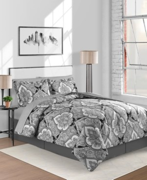 Fairfield Square Collection Gotham 6-Pc. Twin Comforter Set Bedding