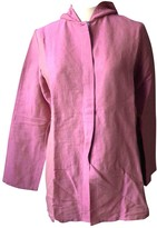 Cacharel Pink Linen Top for Women