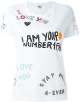 Kenzo 'Kenzo X Fan' T-shirt
