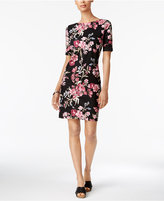 Karen Scott Print T-Shirt Dress, Created for Macy's