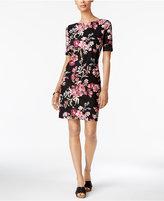 Karen Scott Print T-Shirt Dress, Only at Macy's