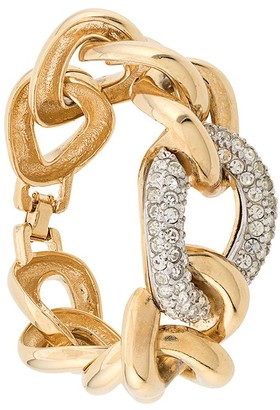 Givenchy Pre-Owned statement chain bracelet