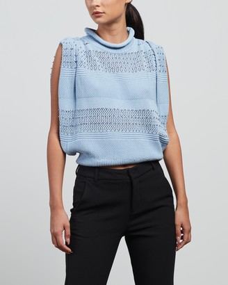 Sass & Bide Women's Blue Jumpers - Best of Nowhere Knit - Size XS at The Iconic