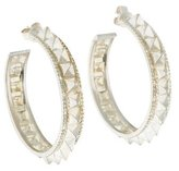 Amrapali Pyramid Spike Hoop Earrings