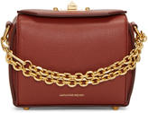 Alexander McQueen Red Leather Box 16 Bag