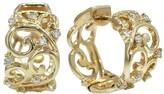 Effy Jewelry Moderna Diamond Hoop Earrings, 0.21 TCW