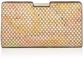 Milly Geo Frame Small Cork Clutch