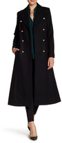 CeCe by Cynthia Steffe Ruby Double Breasted Long Wool Coat