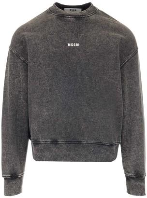 MSGM Micro Logo Sweatshirt