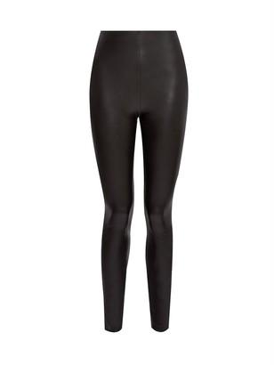 Dorothy Perkins Tall PU Legging-Black