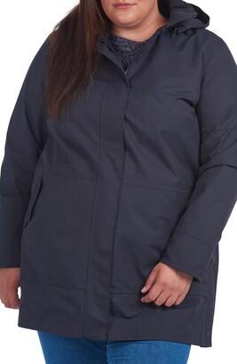 Barbour Roseate Removable Hood Waterproof Raincoat