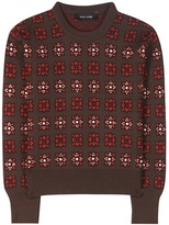 Each X Other Embellished Wool-blend Sweater