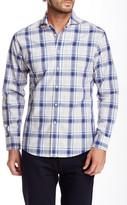 Vince Camuto Long Sleeve Plaid Slim Fit Shirt