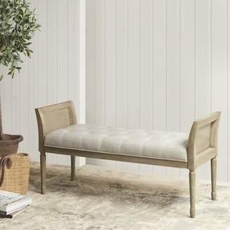 Martha Stewart Isla Upholstered Bench