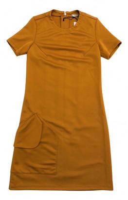 Carven Orange Synthetic Dresses