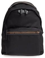 Stella McCartney Falabella Go Nylon Backpack - Black