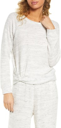 Socialite Waffle Knit Pullover