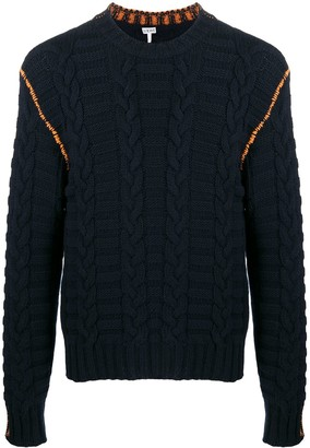 Loewe Cable Knit Jumper
