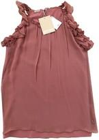 Galliano Pink Silk Top for Women