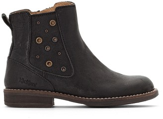 Kickers Smad Leather Ankle Boots