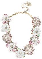 Betsey Johnson Summer Flowers Statement Necklace