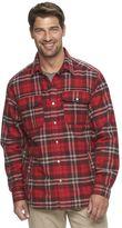 Columbia Men's Fireside Flame Classic-Fit Plaid Shirt Jacket