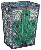 Pier 1 Imports Peacock Laundry Hamper