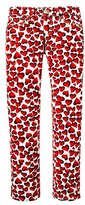 Juicy Couture Girls Darling Hearts Skinny Jean