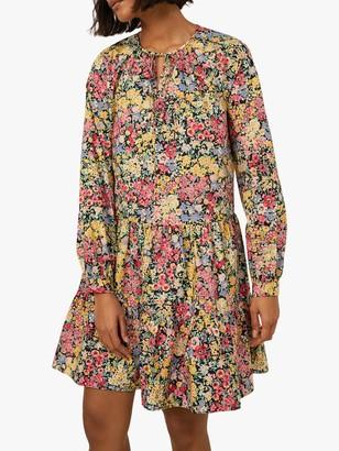 Warehouse Floral Mini Dress, Multi